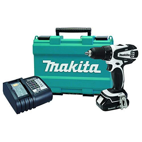 Makita XFD01WSP-R 18V LXT Cordless Lithium-Ion 1 2 in. Compact Drill Driver Kit Renewed