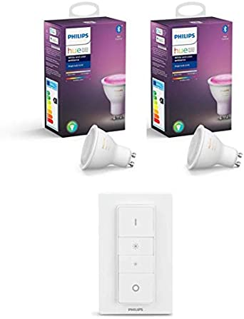 Philips Hue White and Color Ambiance - Pack de 1 Bombillas LED ...
