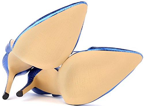 Zeppa Sandali Nice Find Blue con Donna avtSqgwx