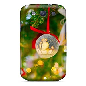 Galaxy S3 Cover Case - Eco-friendly Packaging(christmas Tree Holidays)