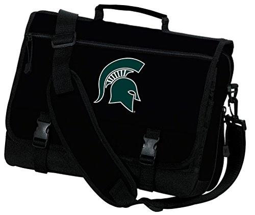 Messenger Michigan (Broad Bay Michigan State University Laptop Bag Michigan State Computer Bag or Messenger Bag)