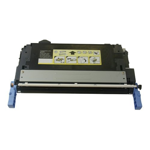 ReInkMe Compatible Q5952A 643A Yellow Toner Cartridge for HP Color 4700 (Q5952a Compatible Yellow Laser)