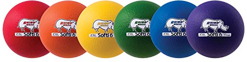 Foam Rhino Inch Skin 6 - Champion Sports Special Rhino Skin Foam Ball Set