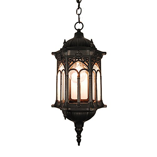 Outdoor Lantern Pendant Light - 2