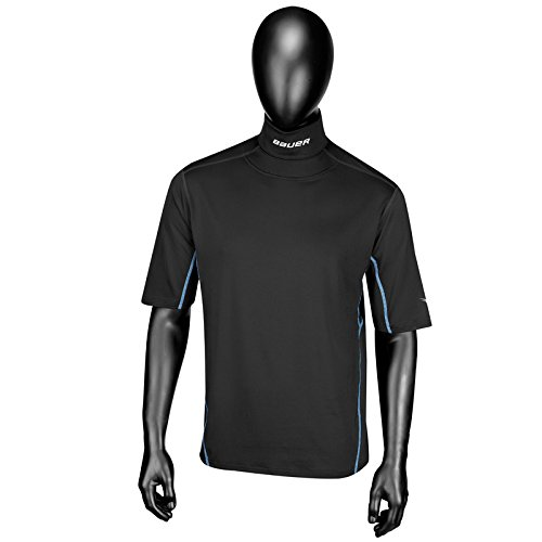 bauer-youth-ng-core-integrated-neck-short-sleeve-top-black-medium