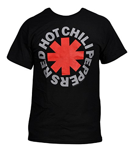 Red Hot Chili Peppers - Mens Asterisk T-shirt 2X-Large Black