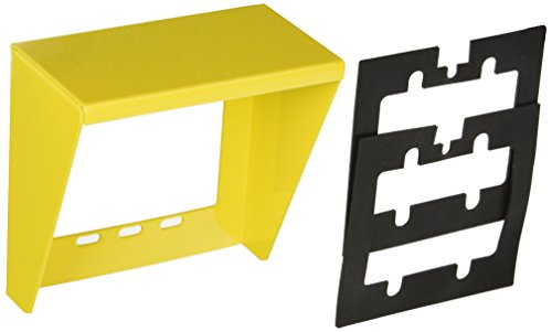 Valcom V-9910-Yel Doorbox Weather Guard for use with Valcom Doorplate Speakers, Yellow by Valcom