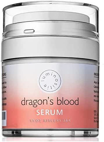 Dragons Blood Serum - Sculpting Gel, Face Tightening and Lifting Cream to Repair, Soothe, Regenerate and Protect - Boosts Collagen Production - 1.7oz - Made in the USA