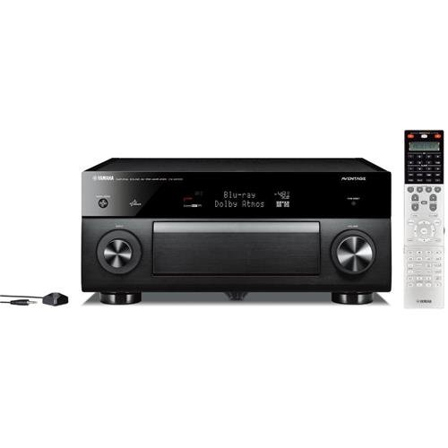 Yamaha Links - Yamaha CX-A5100 11.2-CH MusicCast Preamplifier with Built-In Wi-Fi & Bluetooth (Black), Works with Alexa