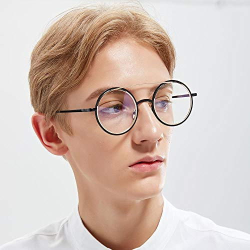 Shop für echte Billiger Preis süß MAGAI Mode Runde Brille Doppel Emaille Metall Optiacl Gläser ...