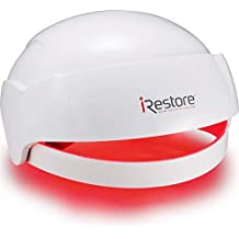 iRestore Laser Hair Growth System - FDA Cleared Hair Loss Treatments - Hair Regrowth for Men and Women with Balding, Thinning Hair - Laser Cap Uses Red Light Therapy Like Laser Comb Hair Loss Products