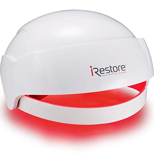 iRestore Laser Hair Growth System – FDA-Cleared Hair Loss Treatment for Men and Women with Thinning Hair – Laser Cap Uses Regrowth Therapy Similar to Combs, Brushes to Grow Thicker, Fuller Hair