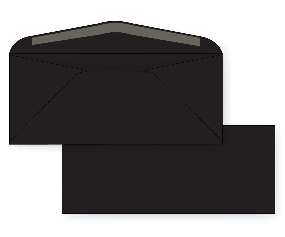 #10 Regular Envelope - Astrobright - 24# Eclipse Black (4 1/8 x 9 1/2) - Business Color Series (Pkg of 100)