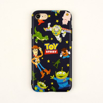 sale retailer 46162 d04be Slim Fit Blue Toy Story Case iPhone 6Plus 6sPlus 6+ 6s+ Large Soft Silicone  Gel Rubber 3D Cartoon Shockproof Drop Resistant Protective Cool Fun ...