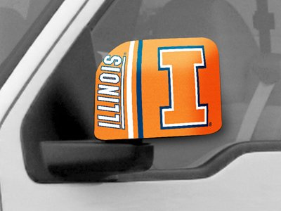 University of Illinois Large Mirror Cover