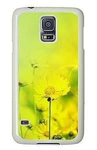 Samsung Galaxy S5 Autumn chrysanthemum Desktop PC Custom Samsung Galaxy S5 Case Cover White