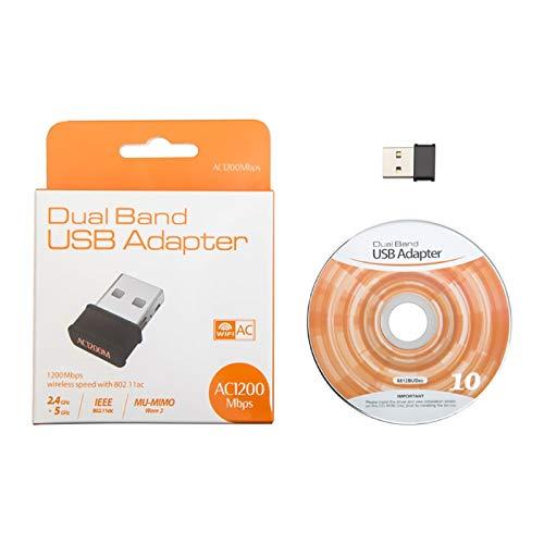 Hariier 802.11ac 1200Mbps Dual Band 2.4G 5G Wireless Nano USB WiFi Adapter for Desktop