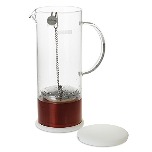FORLIFE LUCENT Glass Iced Tea Jug with Capsule Infuser, 48-Ounce, Frost by FORLIFE (Image #4)
