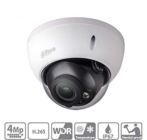 Dahua 4MP IP Camera IPC-HDBW4433R-ZS 2.7-13.5mm Motorized Varifocal Lens POE H265 IR 50MSD Slot IP67 Outdoor Security Surveillance Dome Camera ONVIF International Version