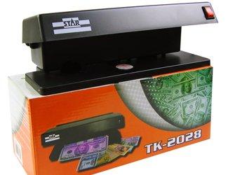 Detector de billetes falsos maquina doble tubo 6W Tk-2028: Amazon.es: Hogar