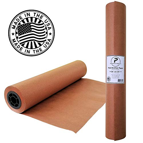 Pink Butcher Paper Roll 24