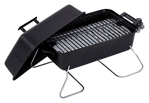 - Char-Broil 465133010 Table Top 11,000 BTU 190 Sq. Inch Portable Gas Grill