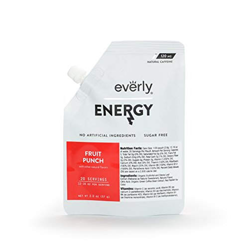 Everly Powdered servings Natural Calorie