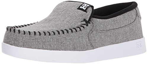 DC Shoes Mens Villain TX Low Top Shoes Gray Resin Rinse 9