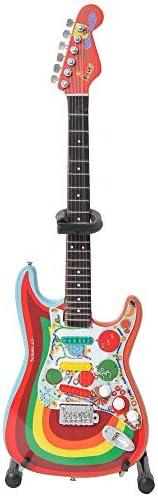 [해외]GEORGE HARRISON 조지 해리슨 Fender Strat Rocky DesignFab Four미니어처 악기 【 공식공식 】 / GEORGE HARRISON George Harrison Fender Strat Rocky DesignFab FourMiniature Instruments [Official Officia