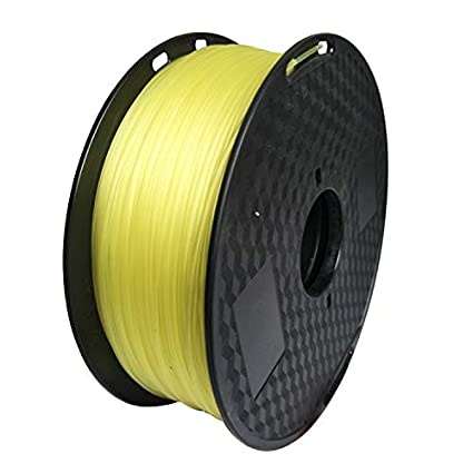 Filamento para impresora 3D, 1,75 mm, ABS (Clear Yellow), bobina ...