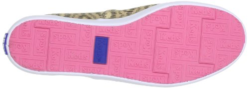Keds Rookie Animal Print WF46423 - Zapatillas de lona para mujer Marrón (Braun (animal tan normal))