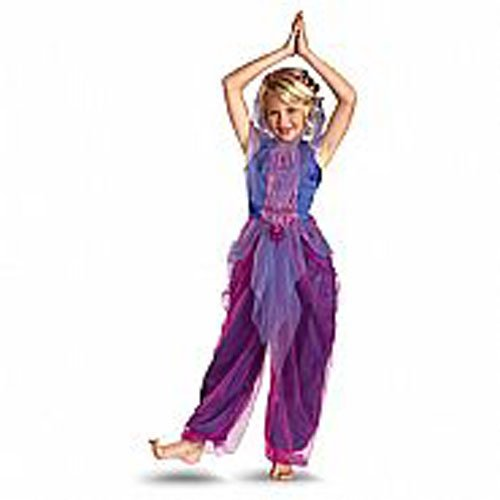 Garden Charms Garden Genie Costume, Purple/Pink, Small/4-6x ()