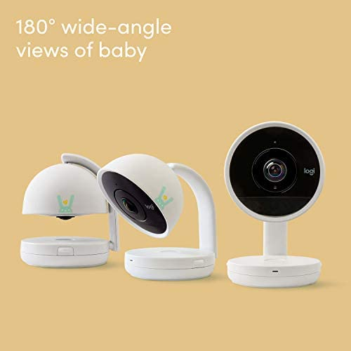41Z7Y5G9%2BvL. AC - Lumi By Pampers Smart Baby Monitor: Camera With HD Video & Audio – WiFi – Night Vision – Temperature & Humidity Tracking And Two Way Audio