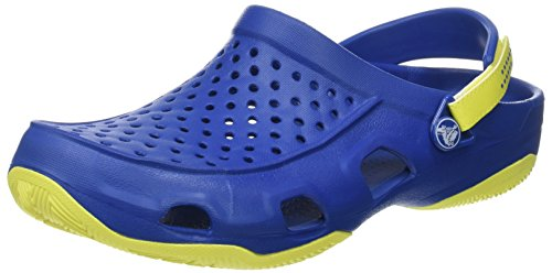 Ball Men Deck Green tennis Clog blue Blu Swiftwater Uomo Zoccoli Crocs Jean qv5tUt