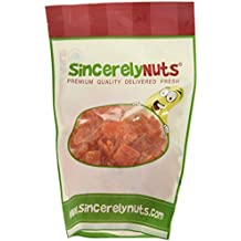 Sincerely Nuts Dried Papaya Chunks - One Lb. Bag – Delicious Sweet Taste - Bite Sized Chunks - Oozing with Antioxidants - Fresher Than Fresh – Kosher Certified