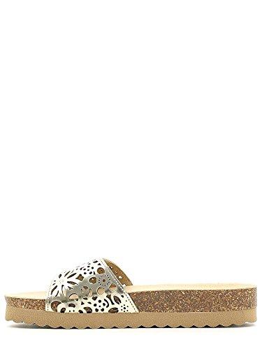 KEYS 5493 Sandals Women Platino MewpEVmh