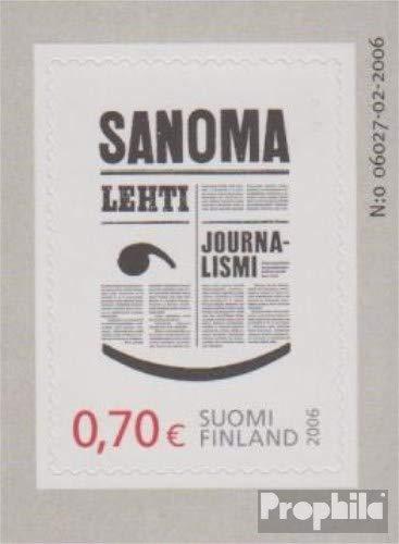 2006 Journalisten Briefmarken f/ür Sammler Prophila Collection Finnland 1820 kompl.Ausg.