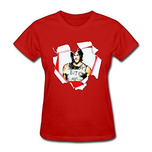 US-Women's The Walking Dead Daryl Dixon Norman Reedus Short-sleeve Shirt.