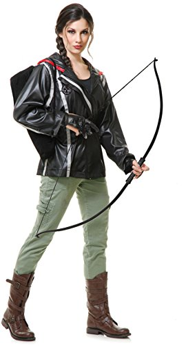 Adults Women's Hunger Games Katniss Everdeen Jacket Bundle Medium 8-10