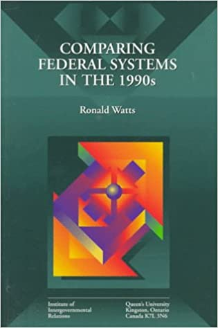 essays in honour of ronald l. watts The federal idea: essays in honour of ronald l watts montreal and kingston: mcgill-queen's university press, 2012 538 pp $10500 cloth, $4495 paper.