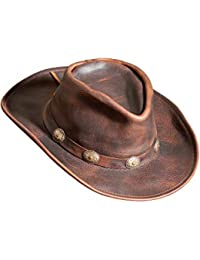 Raging Bull Leather Cowboy Hat