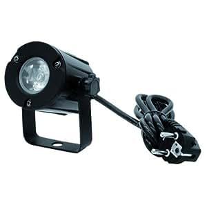 Eurolite 51916100 PST - Foco de luz led (3 W, 3200 K)
