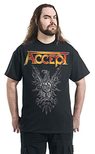 Rise T Noir Courtes Manches Of Accept Chaos shirt dp1qdx