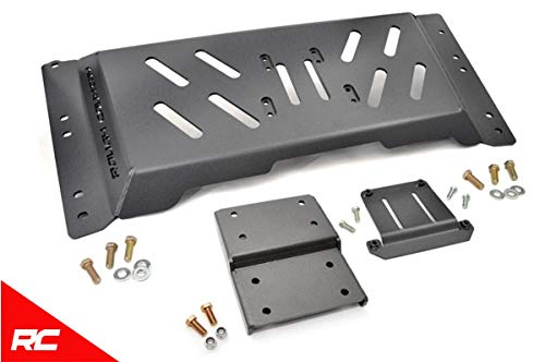Rough Ground - Rough Country Skid Plate Armor Extra Ground Compatible w/ 1997-2002 Jeep Wrangler TJ 6-cyl Auto 1120
