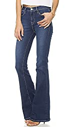 FRAME Women's Le High Flare Jeans, Benedict Canyon, 24