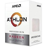 AMD Athlon 240GE - Procesador Athlon, 3.5 GHz, Zócalo AM4, PC, 14 NM, 240GE