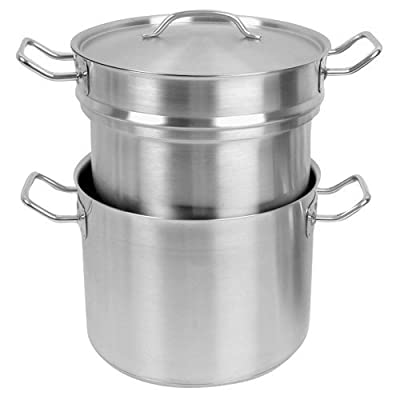 Thunder Group SLDB016 16 Qt. Double Boiler With Cover