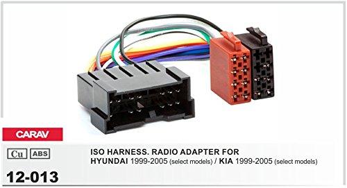 Carav 12-013Cable Adaptador ISO para Kia Radio de coche Hyundai
