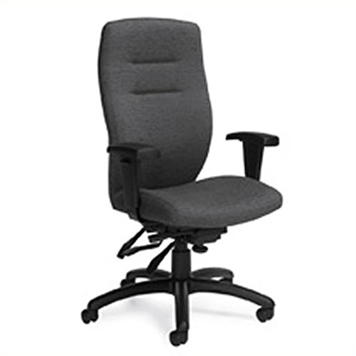 Global Synopsis High Back Multi Tilter Office Chair in Granite Rock ()