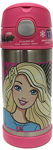 Thermos Funtainer 12 Ounce Bottle, Barbie